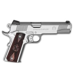 "Springfield Armory Springfield Armory 1911 Loaded Stainless Steel 45ACP 5"" CA"