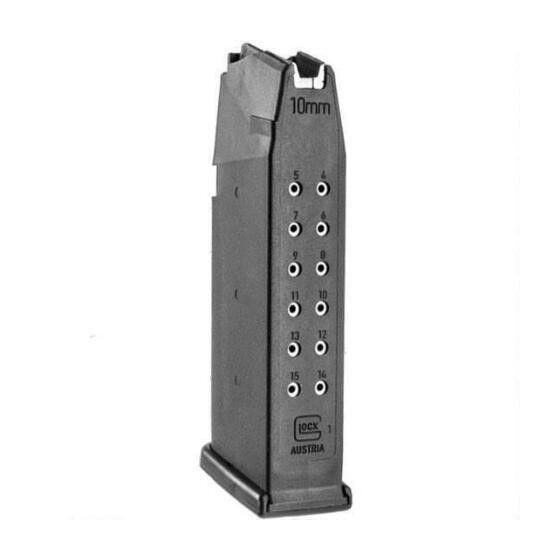 Glock Glock Mag G20 10MM 15Rd Black