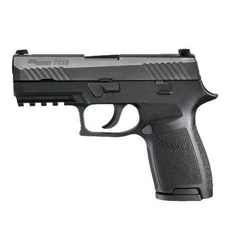 "SIG SAUER Sig Sauer P320 Carry 9MM 3.9"" Night Sights Black"