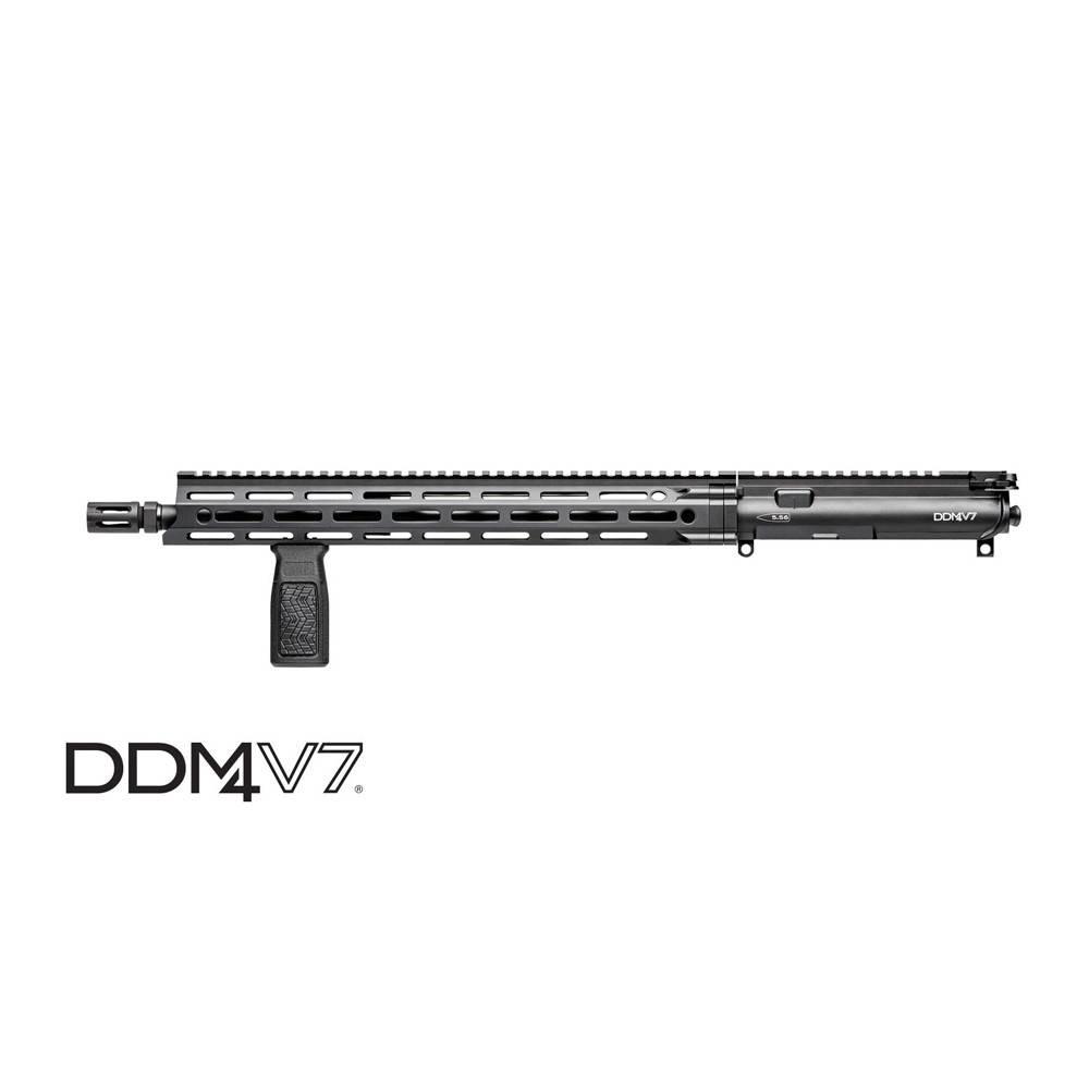 "Daniel Defense Daniel Defense M4V7 Upper 5.56 16"" MLOK Black (BCG & Charging Handle Included)"