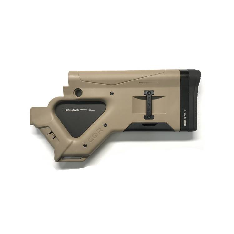 Hera USA Hera USA CQR AR15 Featureless Buttstock Tan CA Featureless