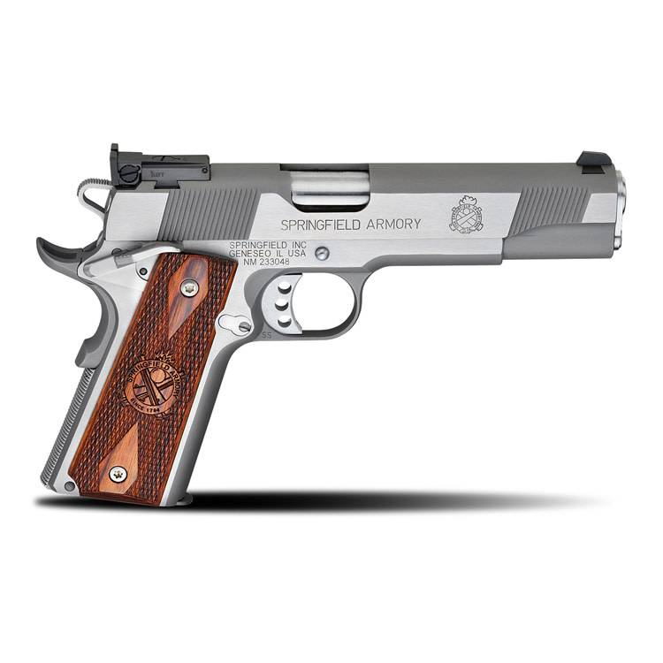 """Springfield Armory Springfield Armory 1911 Loaded Target Stainless 9MM 5"""" CA"""