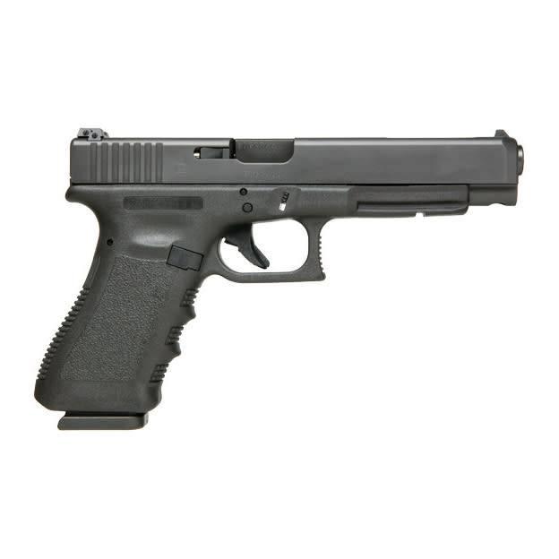 """Glock Glock 34 Gen3 9MM 5.3"""" 17Rd Fixed Sights Black (Blue Label)"""