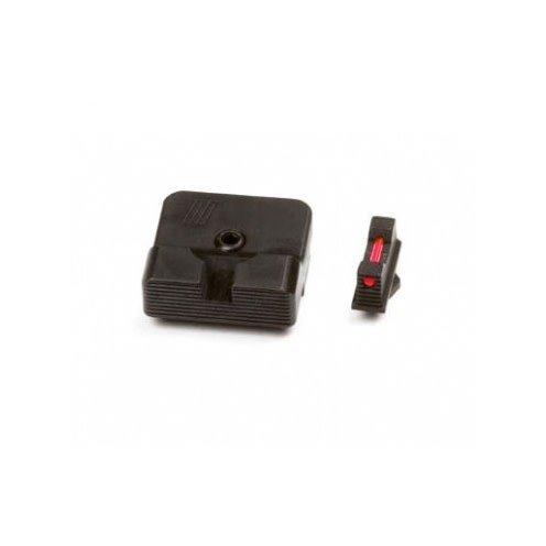 Zev Technologies - Parts Zev Techoloies Sight Set .215 Fiber Optic Front Combat V2 Black Rear