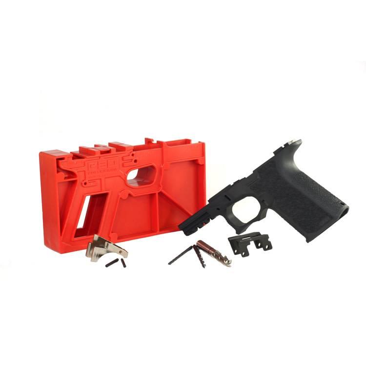 Polymer80 Polymer80 PF940Cv1 80% Compact Pistol Frame Kit Glock 19, 23, 32 Polymer - Black
