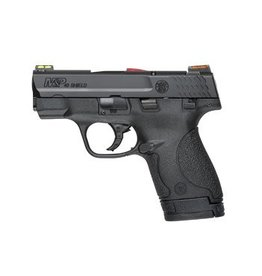 "Smith & Wesson Smith & Wesson M&P Shield 40S&W 3.1"" HiViz Fiber Sights Black CA"