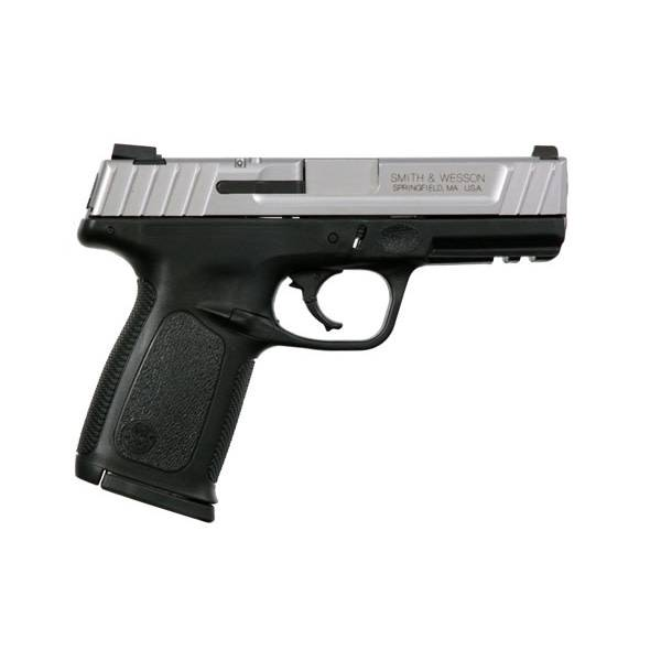 "Smith & Wesson Smith & Wesson SD9VE 9MM 4"" 10Rd Black/SS CA"