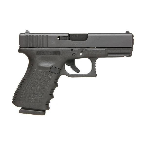 "Glock Glock 23 Gen3 40S&W 4"" 10Rd Fixed Sights Black CA"