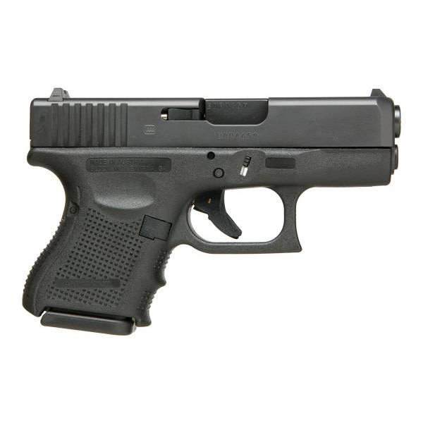 "Glock Glock 26 Gen3 9MM 3.5"" Glock Night Sights Black (Blue Label)"