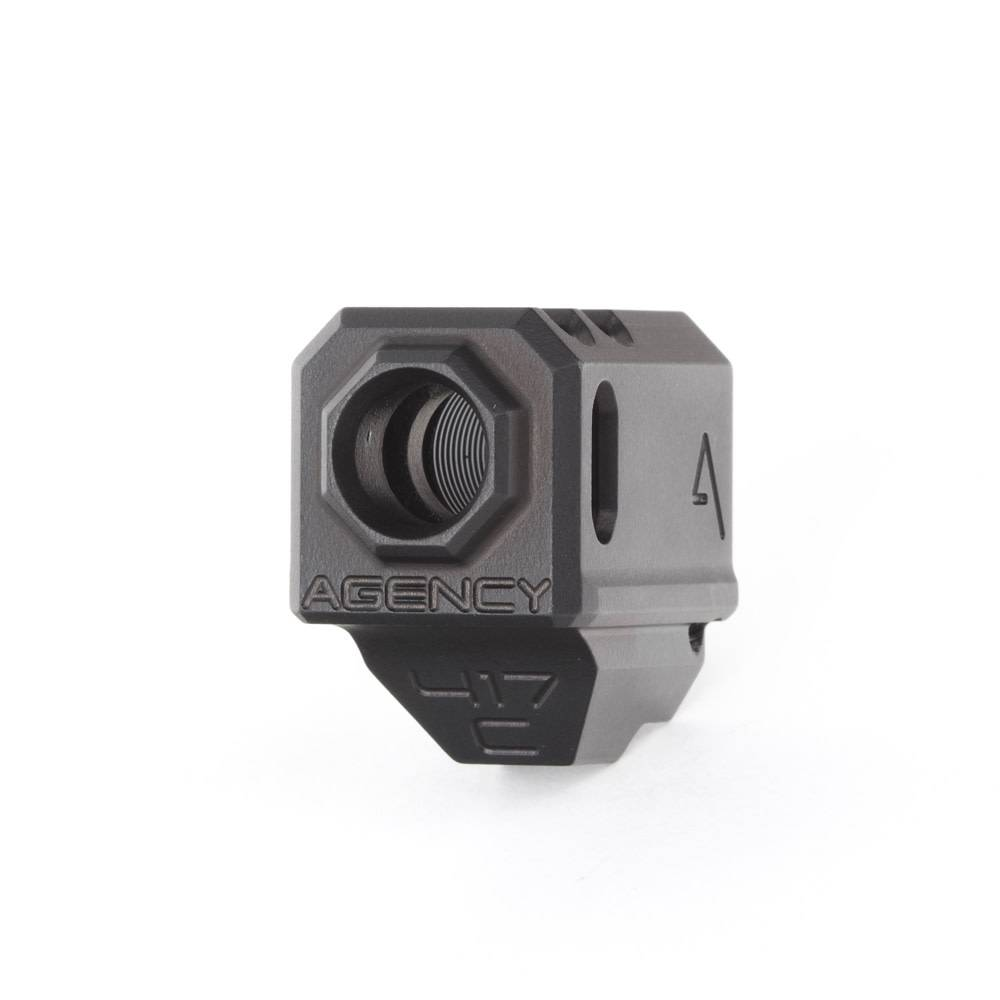 Agency Arms Agency Arms 417C Glock G43 Compensator - Black