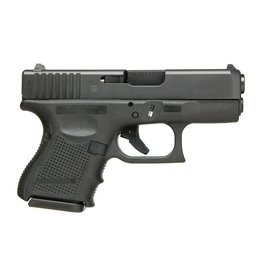 "Glock Glock 26 Gen3 9MM 3.43"" 10Rd Fixed Sights Black CA"