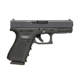 "Glock Glock 19 Gen4 MOS 9MM 4"" Fixed Sights Black (Blue Label)"