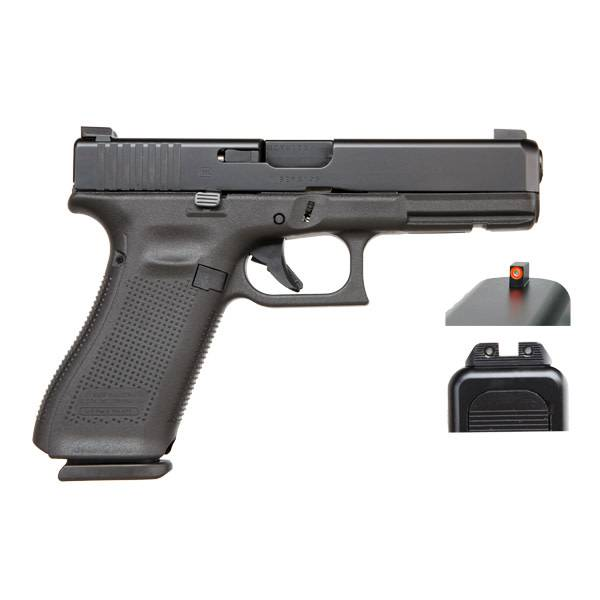 "Glock Glock 17 Gen5 9MM 4.48"" AmeriGlo Black (Blue Label)"