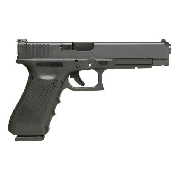 """Glock Glock 34 Gen4 MOS 9MM 5.3"""" Adjustable Sights Black (Blue Label)"""