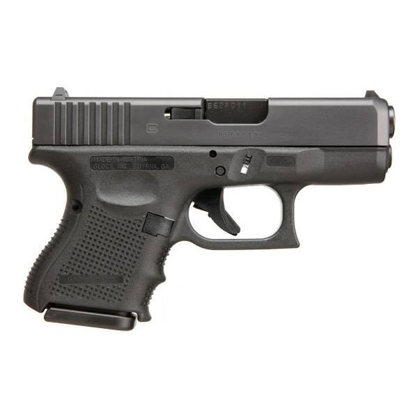 """Glock Glock 27 Gen4 .40S&W 3.46"""" 9Rd Fixed Sights Black (Blue Label)"""