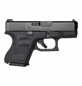 "Glock Glock 26 Gen5 9MM 3.5"" AmeriGlo Night Sights Black (Blue Label)"
