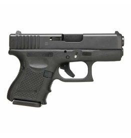 "Glock Glock 26 Gen4 9MM 3.5"" Glock Night Sights Black (Blue Label)"