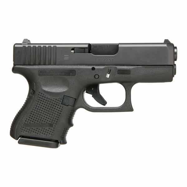 """Glock Glock 26 Gen4 9MM 3.5"""" Fixed Sights Black (Blue Label)"""