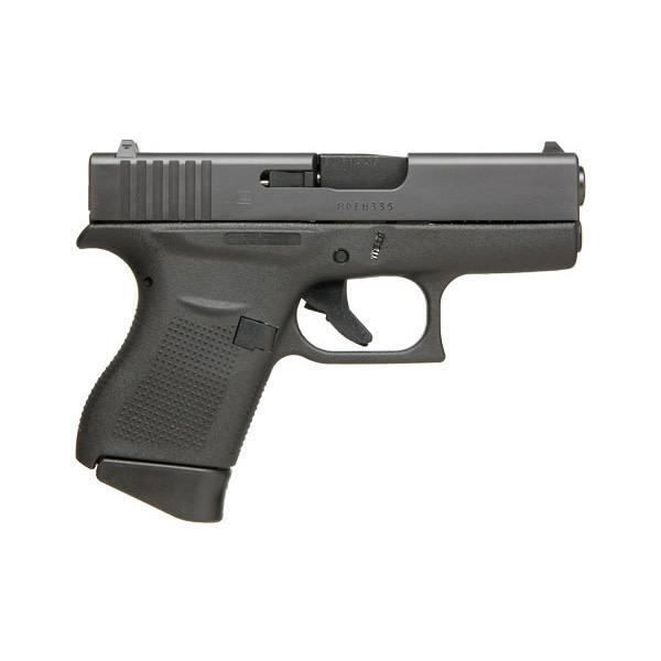 "Glock Glock 43 9MM 3.39"" 6Rd Night Sights Black (Blue Label)"