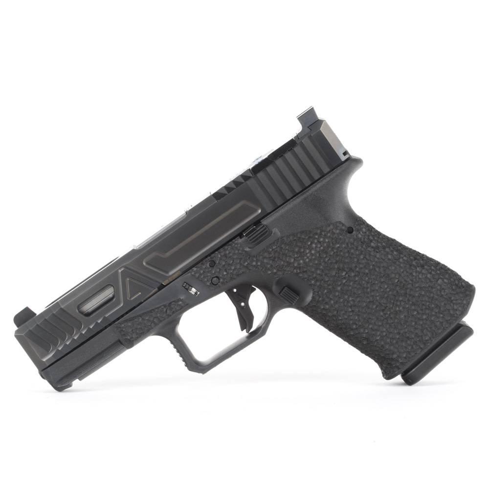 Agency Arms Agency Arms G19 Gen3 Urban Combat DLC w/ EDC Stipple, Agency Trigger, Trijicon HD XR Night Sights