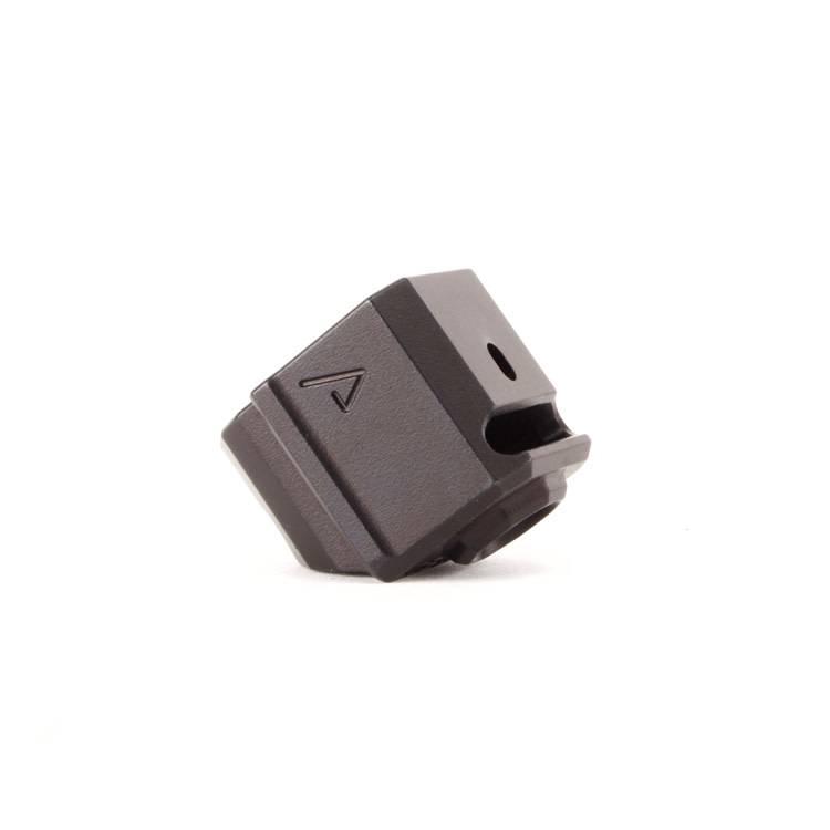 Agency Arms Agency Arms 417S Single Port Glock Gen3 Compensator - Black