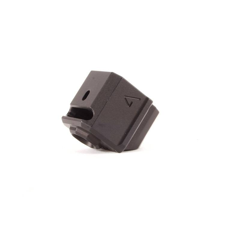 Agency Arms Agency Arms 417S Single Port Glock Gen4 Compensator - Black