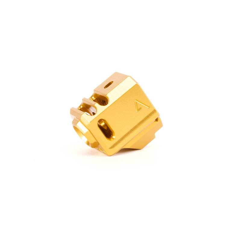 Agency Arms Agency Arms 417C Glock G43 Compensator - Gold