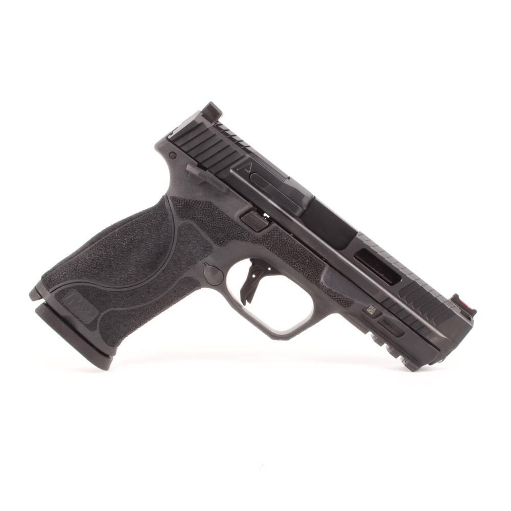 "Agency Arms Agency Arms M&P9 2.0 4.25"" Urban Combat DLC w/ Standard Stipple, Black Agency Trigger"