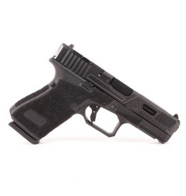 Agency Arms Agency Arms G19 Gen5 Urban Combat Extra Serrations DLC w/ Standard Stipple, Black Agency Trigger