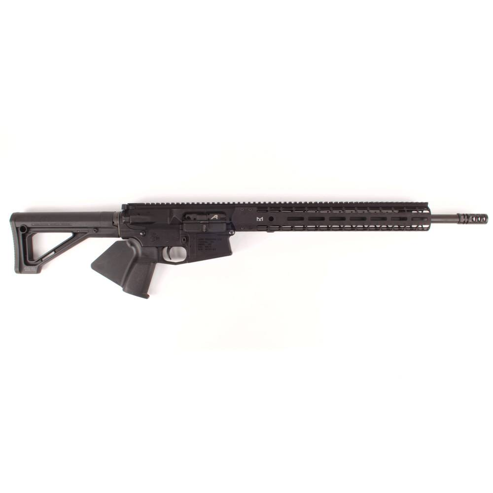 "Aero Precision Aero Precision M5E1 M-LOK Complete Rifle, 18"" .308 CMV Rifle Length Barrel Black CA Featureless"