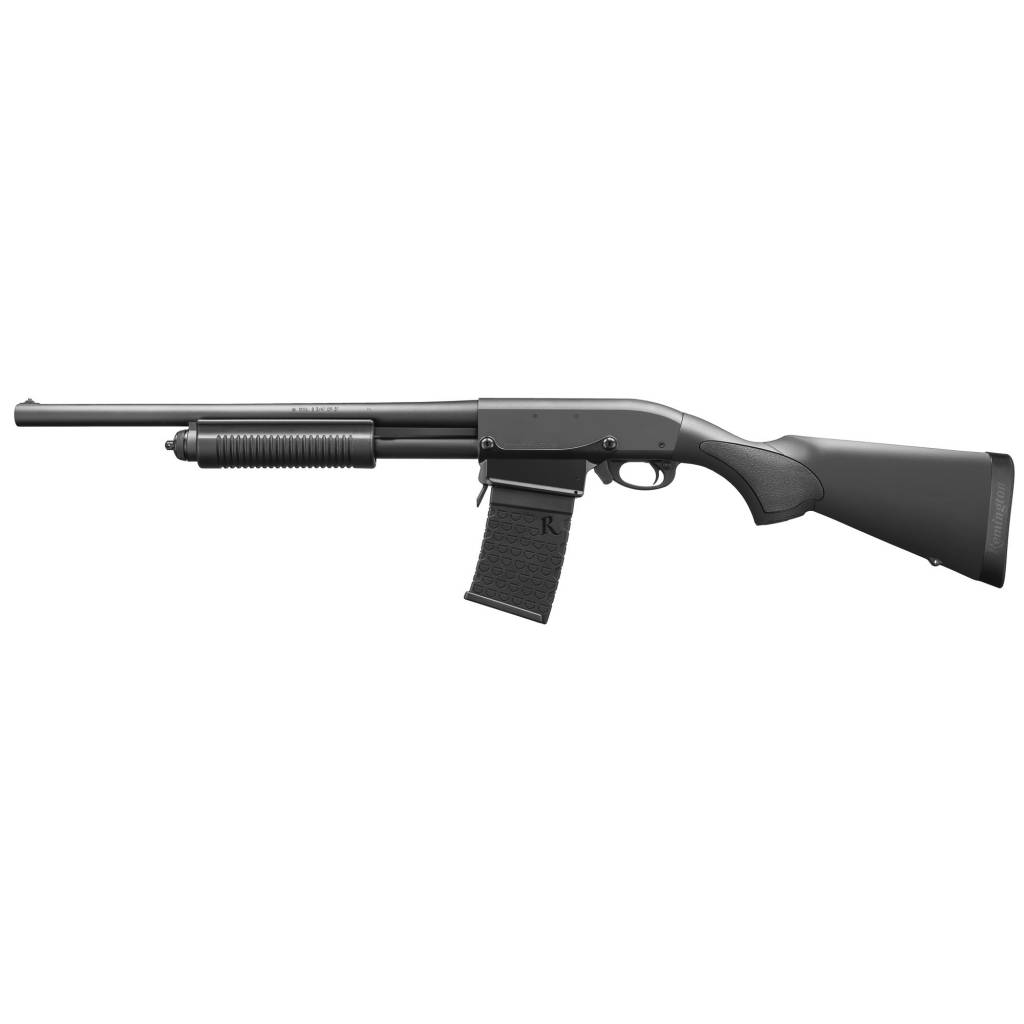 "Remington 870DM 12/18.5"" 6Rd Black"