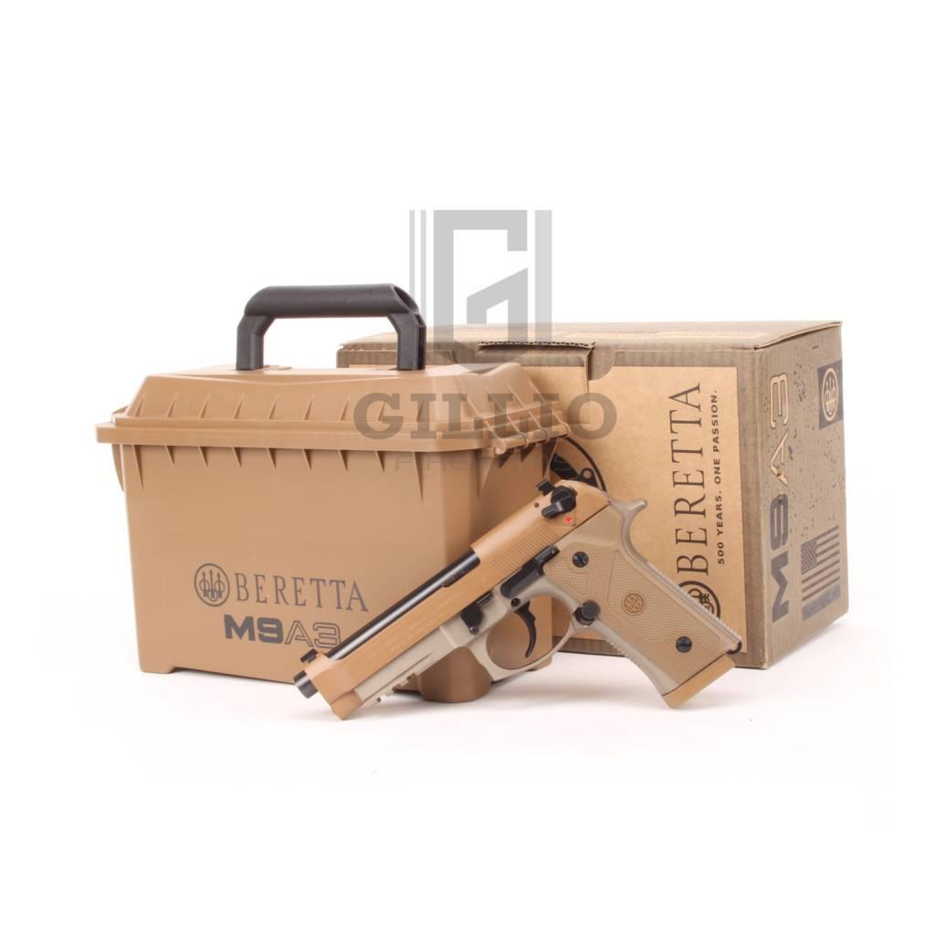 """Beretta M9A3 FDE 9mm 5"""" 17Rd DA/SA Non-Threaded"""