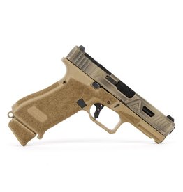 Agency Arms Agency Arms G19X Peacekeeper FDE Battle Worn Cerakote