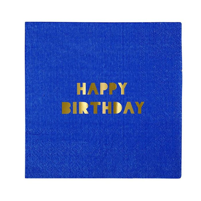 HAPPY BIRTHDAY SM NAPKINS