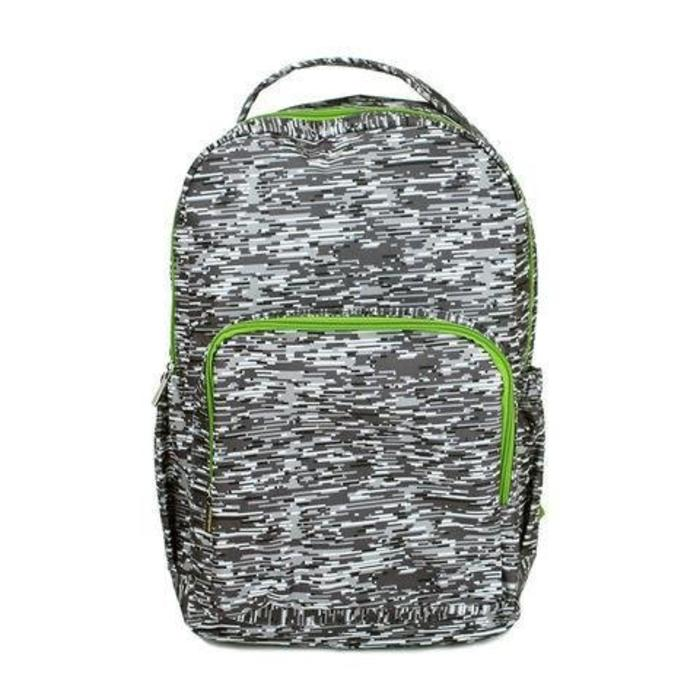 Backpack Lines Gray Small