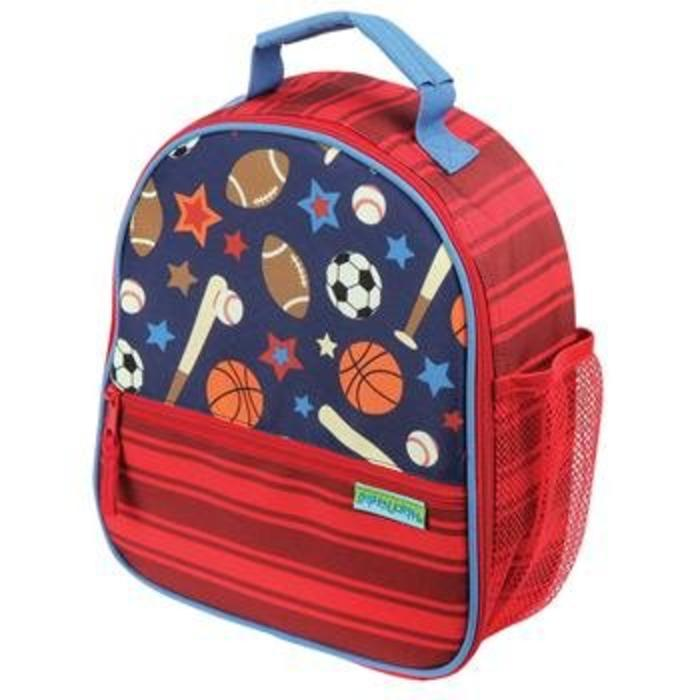 All Over Print Lunch Box Sports-embroidery blue