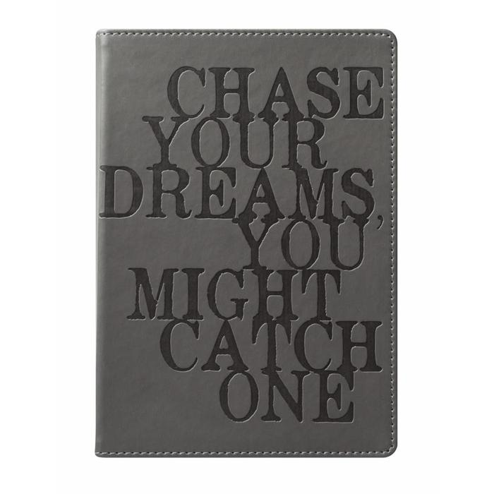 Style Journal Gray Chase Your Dreams 6x8