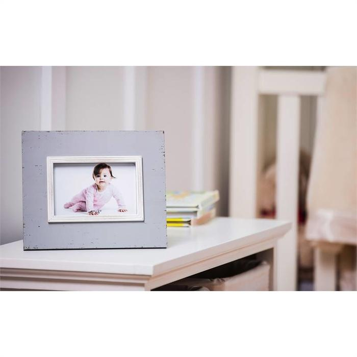 grey distressed wood frame - Distressed Wood Picture Frames