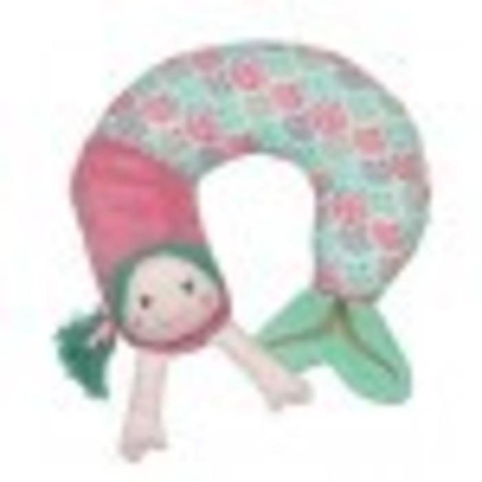 Shellie the Mermaid Travel Pillow