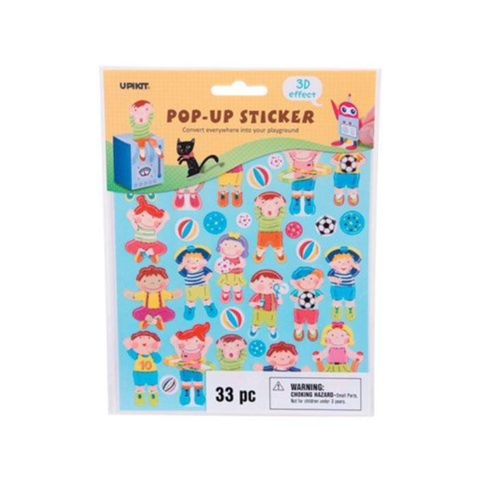 Children Pop Up Stickers