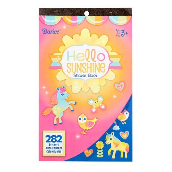 Hello Sunshine Sticker Book