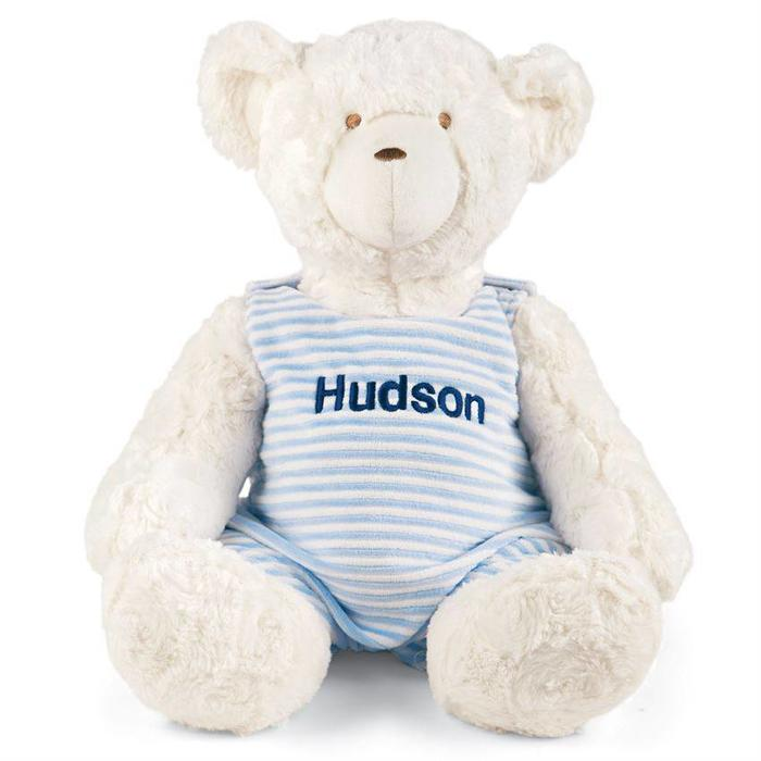 Monogrammed Teddy Bear- Blue