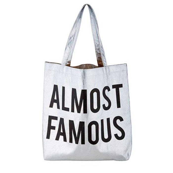 Almost Famous Platinum Tote