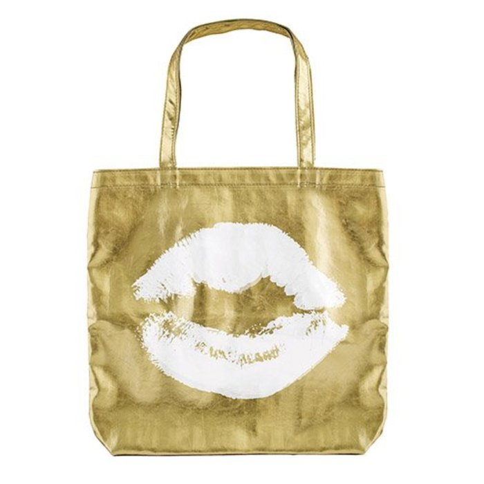 Kiss Gold tote