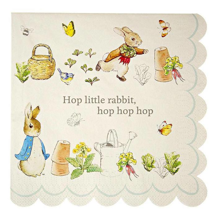 Peter Rabbit  Large Napkin