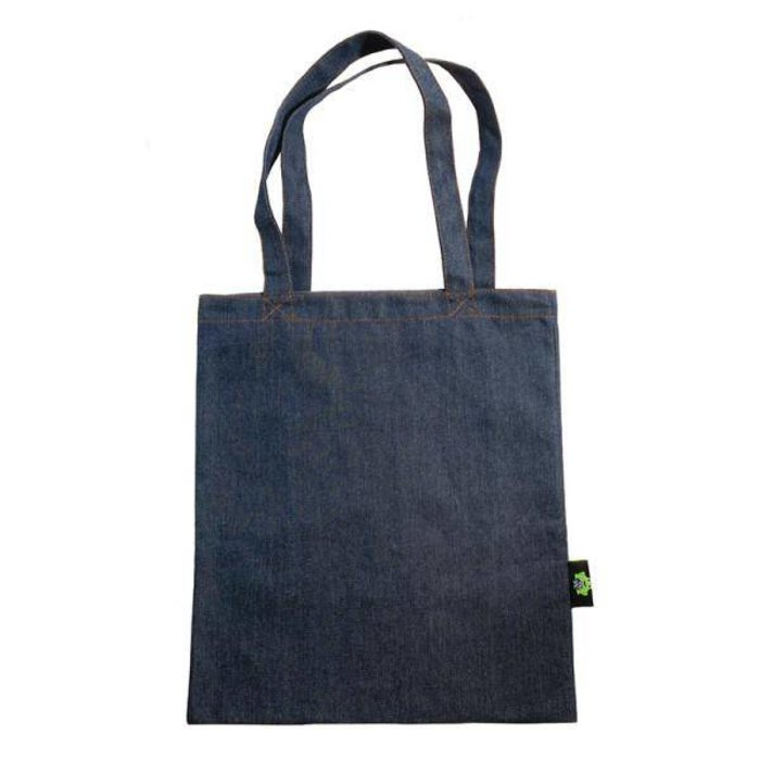 Denim Tote with Inner Pocket