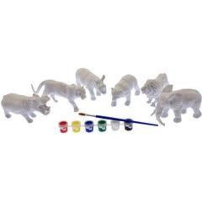 DIY Paint Kit-Safari Animals