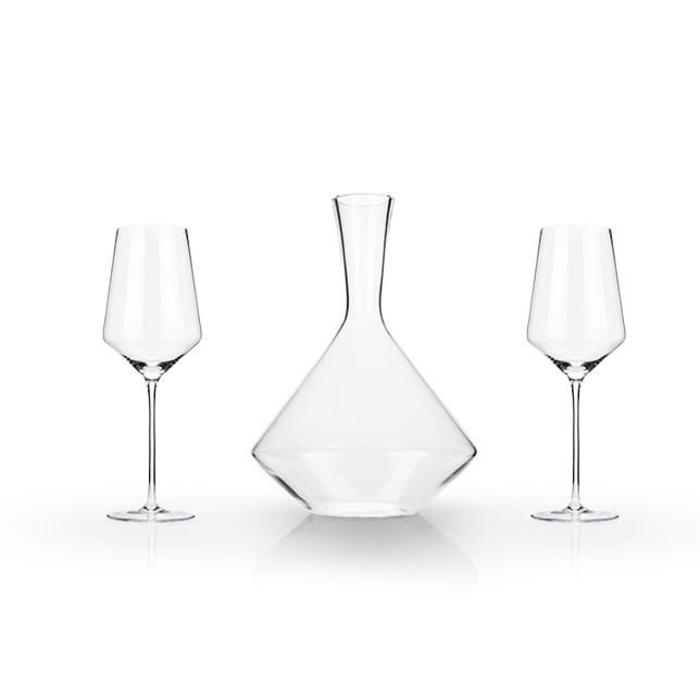 Raye Bordeaux Gift Set (Set of 3) by Viski