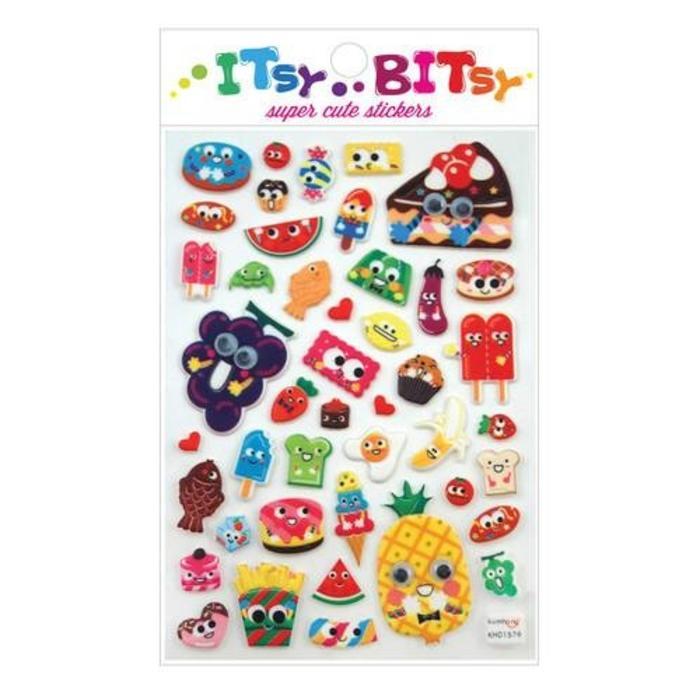 Itsy Bitsy: Googly Eyed Food Stickers