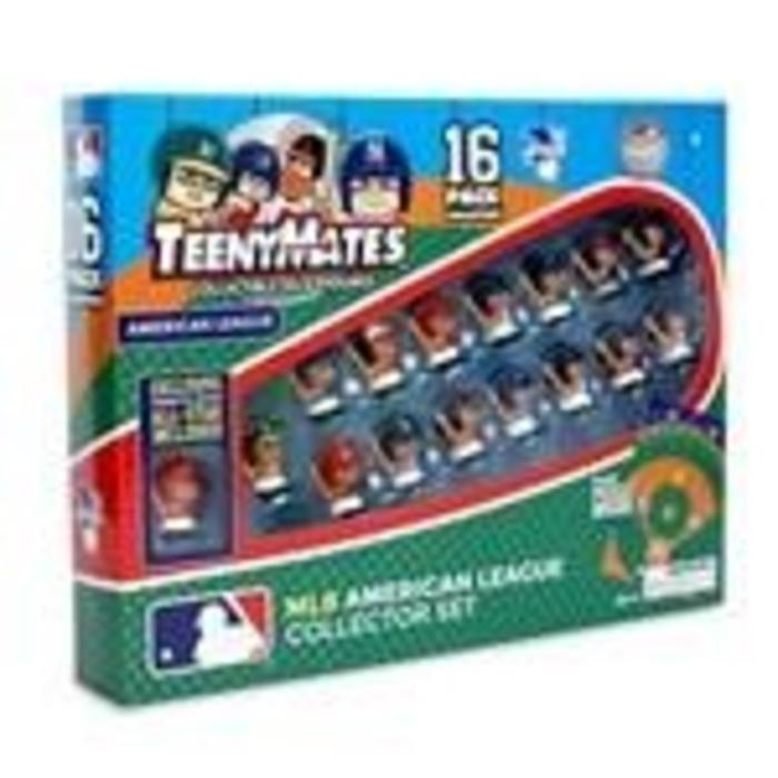 Teenymates MLB American League Batter 16 Pack